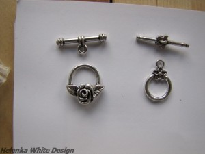 Toggle clasps - copyright Helen White