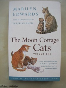 The paperback version of the two first books of the Moon Cottage series. Photo copyright Helen White