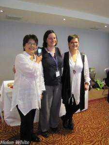 Donna Kato, Cara Jane Hayman and Bettina Welker